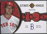 2006 Ultimate Collection #LY Fred Lynn Ultimate Numbers Patch #15/35