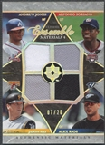2006 Ultimate Collection #SRBJ Andruw Jones Alfonso Soriano Jason Bay Alex Rios Ensemble Jersey #07/20