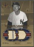 2006 Ultimate Collection #BD2 Bill Dickey Legendary Materials Jersey #40/55
