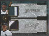 2005 Ultimate Collection #CP Carl Crawford & Scott Podsednik Dual Materials Patch #08/10