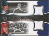 2006 Ultimate Collection #CS Scott Kazmir & Cole Hamels Tandem Materials Jersey #16/25