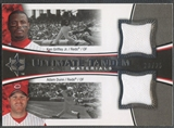 2006 Ultimate Collection #GD Ken Griffey Jr. & Adam Dunn Tandem Materials Jersey #20/25