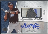 2006 Exquisite Collection #AR Alex Rios Signature Patch Auto #22/30