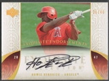 2006 Exquisite Collection #HK Howie Kendrick Endorsements Rookie Auto #25/40