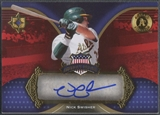 2007 Ultimate Collection #NW Nick Swisher America's Pastime Signatures Auto