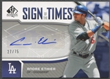 2006 SP Authentic #AE Andre Ethier Sign of the Times Auto #27/75