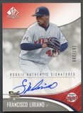 2006 SP Authentic #286 Francisco Liriano Rookie Auto #181/299