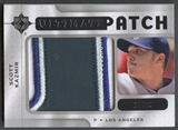2009 Ultimate Collection #SK Scott Kazmir Ultimate Patch #19/35