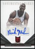 2012/13 Panini Momentum Monumental Marks Red #145 Rick Mahorn Autograph 3/5