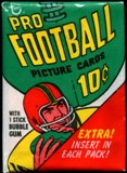 1970 Topps Football Wax Pack