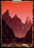 Magic the Gathering Unhinged Single Mountain FOIL - MODERATE PLAY (MP)