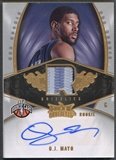 2008/09 Hot Prospects #139 O.J. Mayo Rookie Patch Auto #174/199