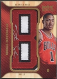 "2008/09 Hot Prospects #RMDR Derrick Rose Rookie Materials Letter ""B"" Patch Auto"