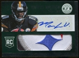 2013 Panini Totally Certified #5/5 Markus Wheaton RC Freshman Fabric 5 Color LOGO Patch!