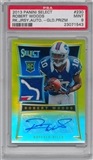 2013 Panini Select RC GOLD Serial #3/10 Robert Woods Bills Logo Patch Autograph! PSA 9