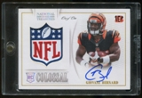 2013 Panini National Treasures Giovani Bernard NFL Shield Hard Signed Autograph 1/1