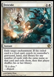 Magic the Gathering Journey into Nyx Single Deicide Foil NEAR MINT (NM)