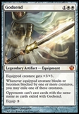 Magic the Gathering Journey into Nyx Single Godsend NEAR MINT (NM)