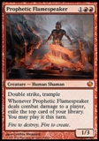 Magic the Gathering Journey into Nyx Single Prophetic Flamespeaker Foil NEAR MINT (NM)