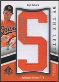 "2009 SP Authentic #KU Koji Uehara By The Letter ""S"" Rookie Patch Auto #35/80"