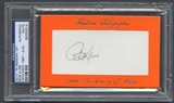 2010 Historic Autograph In Memory Of Bob Kline Auto #02/20 PSA DNA