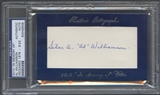 2010 Historic Autograph In Memory Of Al Williamson Auto #08/22 PSA DNA
