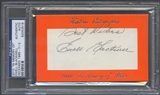 2010 Historic Autograph In Memory Of Ewell Blackwell Auto #07/12 PSA DNA