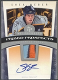 2006/07 Hot Prospects #120 Shea Weber Rookie Patch Auto #489/599