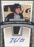 2006/07 Hot Prospects #129 Kristopher Letang Rookie Patch Auto #343/599