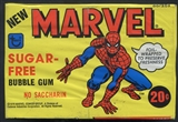 1978 Topps Marvel Bubble Gum Box
