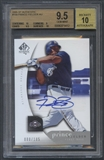 2005 SP Authentic #159 Prince Fielder Rookie Auto #080/185 BGS 9.5