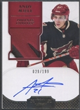 2011/12 Dominion #169 Andy Miele Rookie Patch Auto #029/199