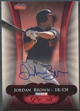 2010 TRISTAR Pursuit #49 Jordan Brown Red Rookie Auto #4/5