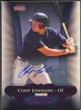 2010 TRISTAR Pursuit #143 Cody Johnson Purple Rookie Auto #1/1