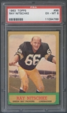 1963 Topps Football #96 Ray Nitschke Rookie PSA 6 (EX-MT) *4788