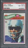 1977 Topps Football #177 Steve Largent Rookie PSA 8 (NM-MT) *9540
