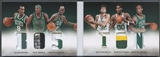 2012/13 Panini Preferred #2 Garnett Pierce McHale Parish Sullinger Rondo Boston Patch #11/25