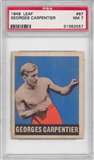 1948 Leaf Boxing #67 Georges Carpentier PSA 7 (NM) *2557