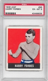 1948 Leaf Boxing #98 Harry Forbes PSA 6 (EX-MT) *9839