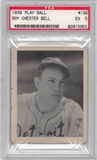 1939 Play Ball Baseball #136 Roy Chester Bell PSA 5 (EX) *5953