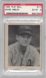 1939 Play Ball Baseball #117 Wayne Ambler PSA 6 (EX-MT) *5949