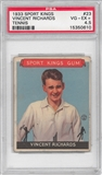 1933 Sport Kings #23 Vincent Richards (Tennis) PSA 4.5 (VG-EX) *0610