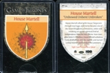 2014 Rittenhouse Game of Thrones Season Three Case Topper #1 House Martell Sigil Die-Cut Card