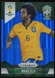 2014 Panini Prizm World Cup Prizms Blue #107 Marcelo /199