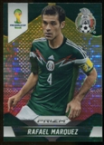 2014 Panini Prizm World Cup Prizms Yellow and Red Pulsar #145 Rafael Marquez