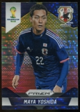 2014 Panini Prizm World Cup Prizms Yellow and Red Pulsar #197 Maya Yoshida