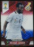 2014 Panini Prizm World Cup Prizms Red White and Blue #95 Michael Essien