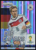2014 Panini Prizm World Cup Cup Captains Prizms #23 Philipp Lahm