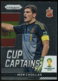2014 Panini Prizm World Cup Cup Captains #14 Iker Casillas