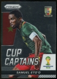 2014 Panini Prizm World Cup Cup Captains #26 Samuel Eto'o